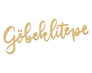 Handdrawn Gobeklitepe Logotype Vector