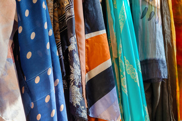 Colorful mixed fabrics Fototapete