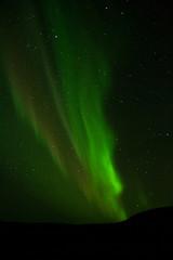 Aurora / Northern Lights in autumn time in Iceland