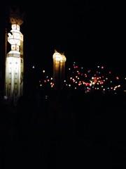 Lanterns at Loi Krathong in Chiang Mai, Thailand