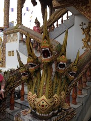 Dragon of 5 Heads at Thai Temple