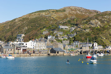 Wall Mural - Barmouth North Wales beautiful coast town in Gwynedd Snowdonia National Park UK