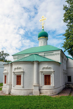 Church of St. Ambrose of Milan in Novodevichy convent