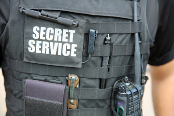 Secret Service Agent in Washington DC. USA