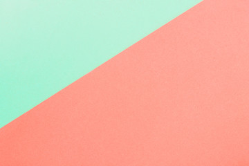 Colorful of pastel red and green paper background