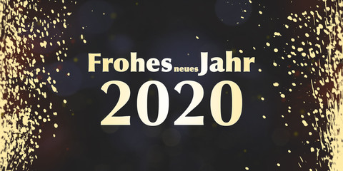 Frohes neues Jahr 2020 | Silvester | Neujahr | Jahreswechsel