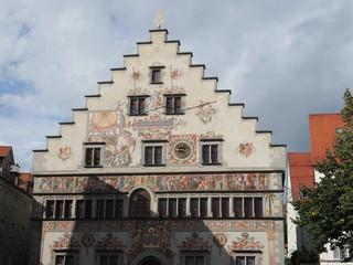 Medieval town hall in Lindau