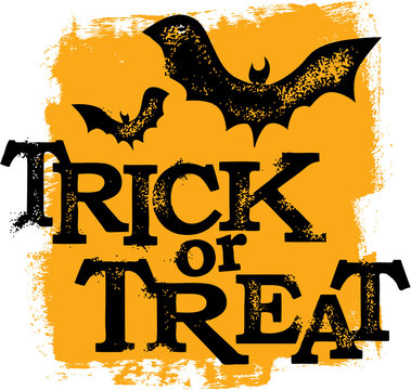 Trick or Treat Halloween Holiday Banner