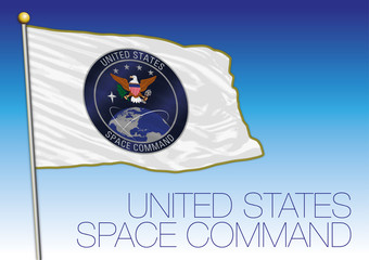 United States Space Command flag, USA