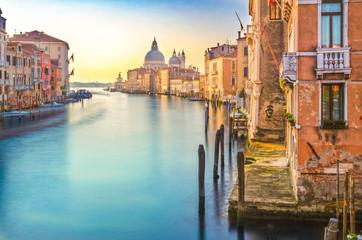 Foto auf Leinwand Gondeln Venice classical view