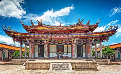Wall Murals Place of worship Taipei Confucius Temple in dalongdong Taipei, Taiwan
