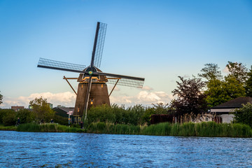 Canvas Prints Swan Molen De Zwaan