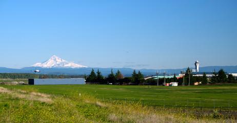 Landing at PDX Portland Oregon.