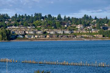 Vancouver Washington across the Columbia river.