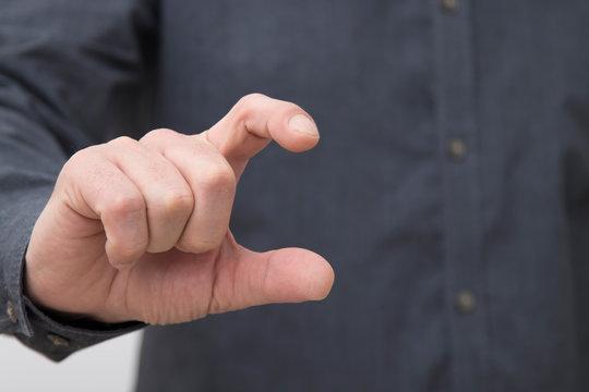 business man hands closeup, expressions