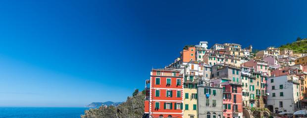 Ligurie Riomaggiore in Italy, the cinque terre