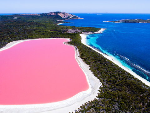 Esperance Pink Lake Australia