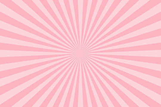 Pink pastel color rays abstract background, can use for test the resolution and focus of cameras and photo or cinema lens.