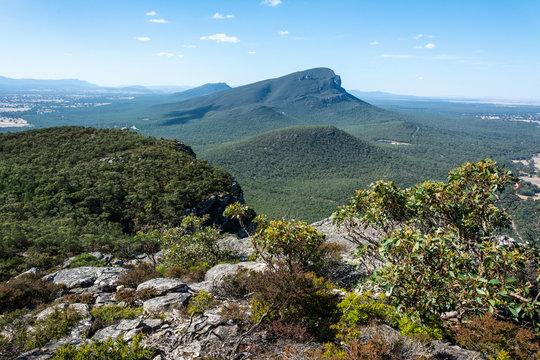 Mt Abrupt in the Grampians region of Victoria, Australia.
