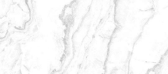 White Carrara Marble Texture Background With Curly Grey Colored Veins, It Can Be Used For Interior-Exterior Home Decoration and Ceramic Decorative Tile Surface, Wallpaper, Architectural Slab. Wall mural