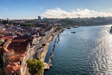View of Vila Nova de Gaia From Dom Luis I bridge.