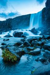 Wall Mural - Wasserfall in Island