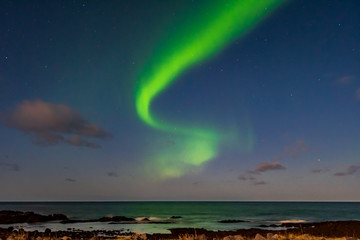 Fototapete - Polarlichter