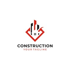 Construction Logo Images Stock Vectors