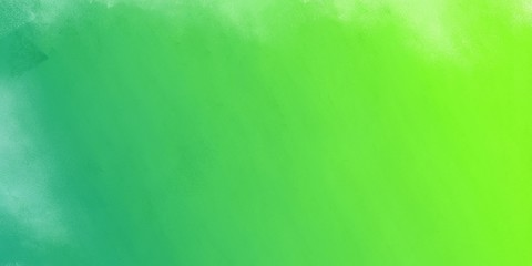 abstract diffuse texture painting with moderate green, green yellow and medium aqua marine color and space for text. can be used for cover design, poster, advertising Wall mural