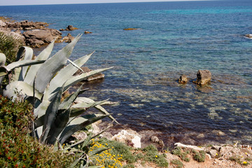 Strand und Felsenküste auf Mallorca