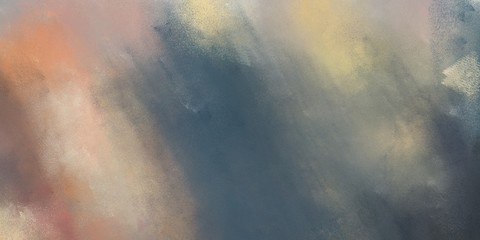 abstract soft grunge texture painting with gray gray, dark slate gray and tan color and space for text. can be used for cover design, poster, advertising