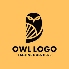 Modern Owl Logo Design Inspiration For Business And Company.