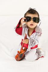 Bebê rockstar óculos escuro