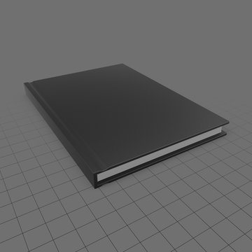Closed notebook 1