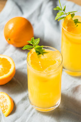 Homemade Orange Crush Cocktail