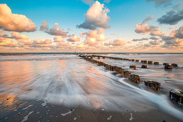 Beach near Westkapelle and Domburg