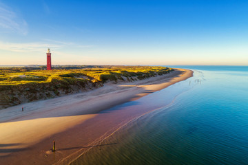 Lighthouse Westhoofd - Ouddorp in Zuid Holland