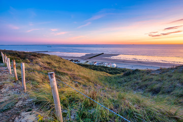 Path through the dunes at Dishoek beach