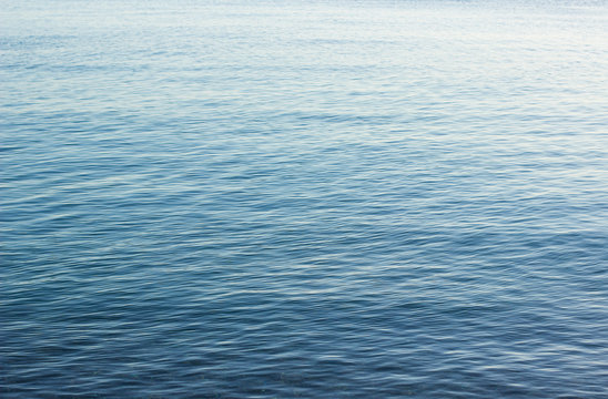 lake blue water smooth surface simple nature background