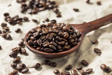 Dry Organic Coffee Beans
