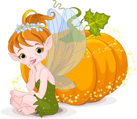 Foto op Canvas Sprookjeswereld Halloween Fairy