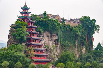 Grand fortress Shibaozhai