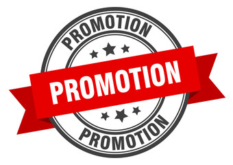 promotion label. promotion red band sign. promotion Wall mural