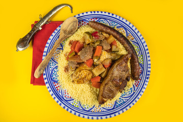 Wall Mural - couscous