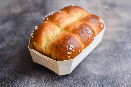 Traditional French brioche