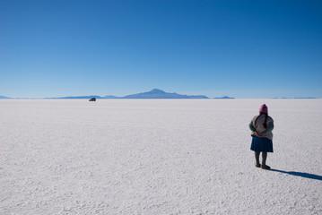 Uyuni Salt Flat - Salar de Uyuni - Bolivia