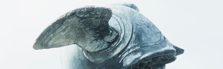 Picture Mythological Mythology Art Framed Print Valkyrie Style Bronze Bust