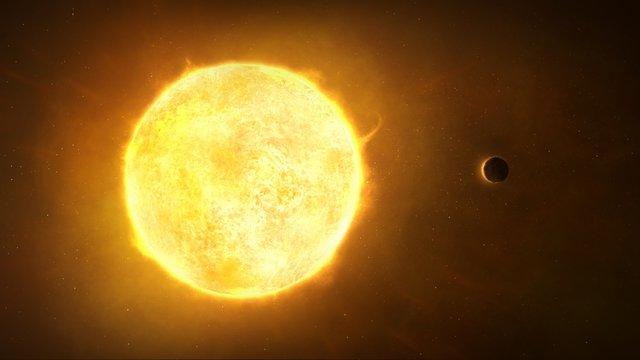Small Planet Orbiting Star