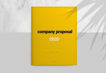 Yellow Proposal Layout