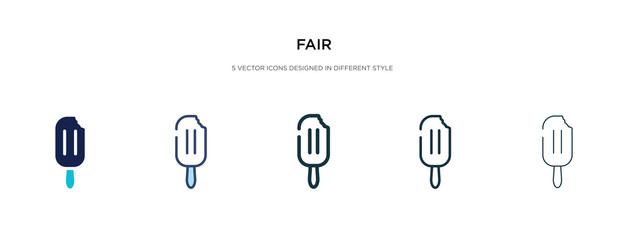 fair icon in different style vector illustration. two colored and black fair vector icons designed in filled, outline, line and stroke style can be used for web, mobile, ui